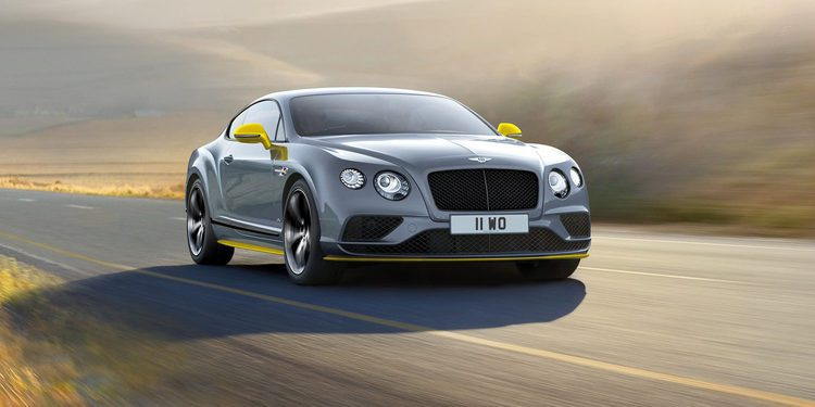 Bentley lanza el Continental GT Speed 2016 con 650 CV