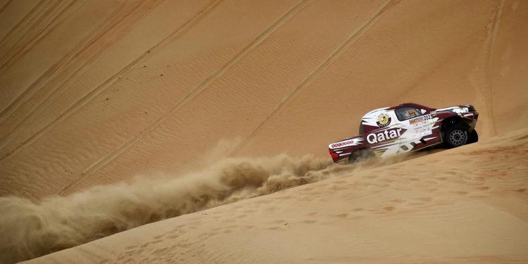 Al-Attiyah, con paso firme entre las dunas