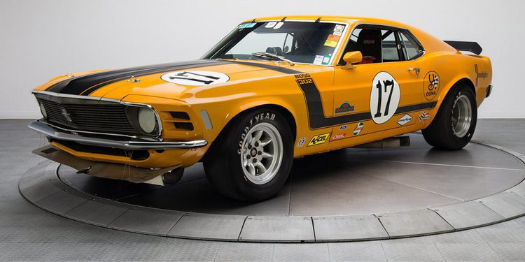 Los raros Ford Mustang BOSS 302 Kar Kraft Trans Am racers