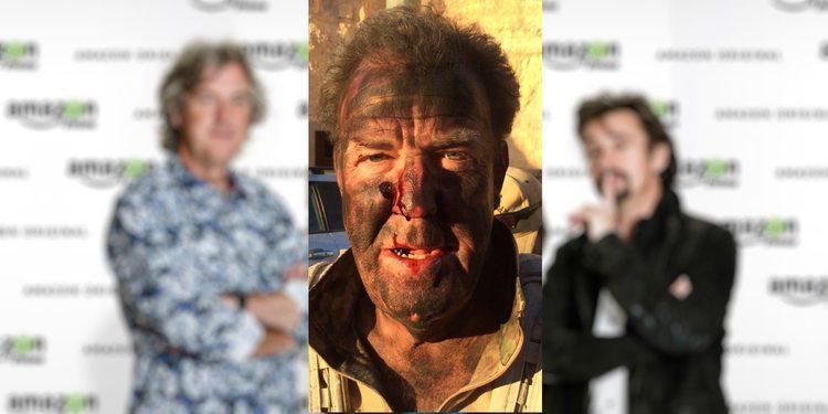 Jeremy Clarkson publica una imagen suya sucio y ensangrentado