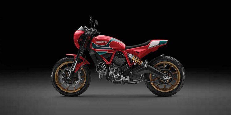 Ducati lanza la nueva Scrambler Mike Hailwood edición limitada