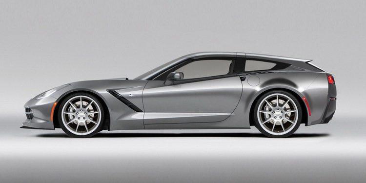 No es broma: se confirma el Chevrolet Corvette con carrocería shooting brake