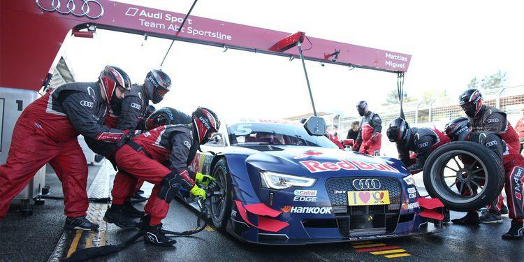 Mattias Ekström rompe el monopolio de BMW en el tercer día de test
