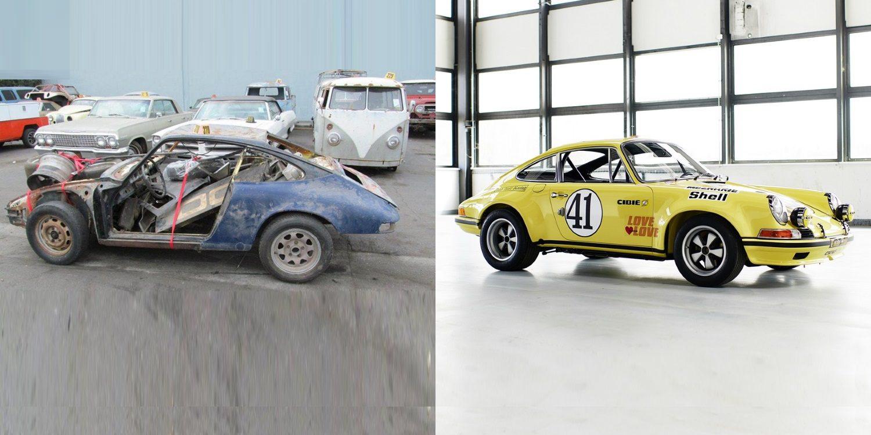 Porsche restaura un 911 ganador de Le Mans descubierto recientemente
