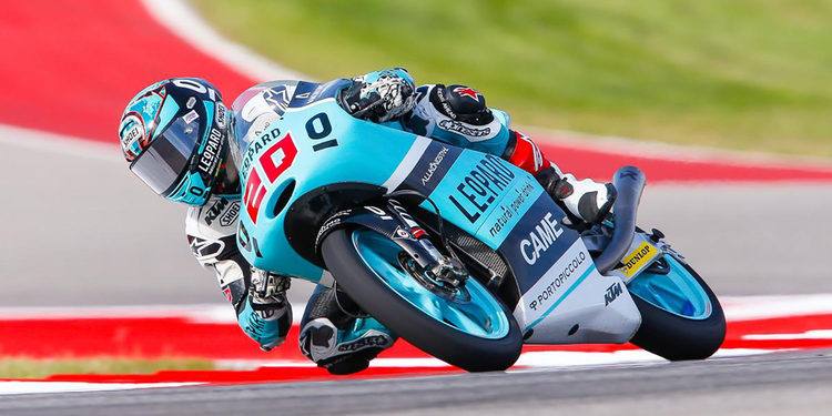 Moto3: Quartararo manda en la primera jornada de libres
