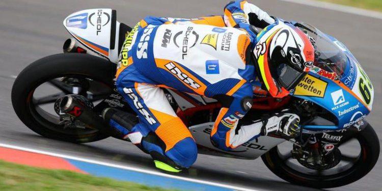 """Moto3: Philipp Oettl en """"quien arriesga, consigue la pole"""""""