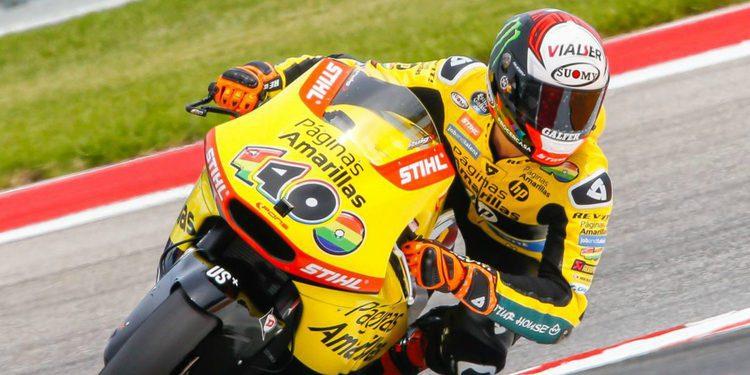 Moto2: Alex Rins muestra su mejor cara y el mejor tiempo