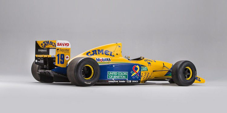 A subasta el Benetton Ford B191 de Michael Schumacher