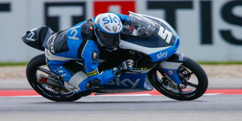 Moto3: Romano Fenati conquista las Américas con su victoria