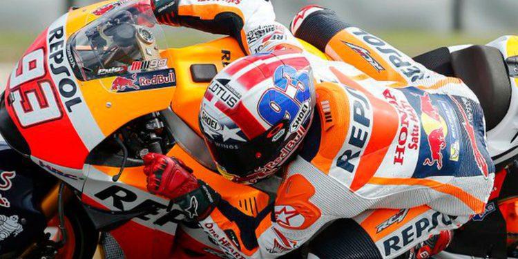 MotoGP: Márquez 4/4 en Texas, Pedrosa un señor y Rossi al suelo