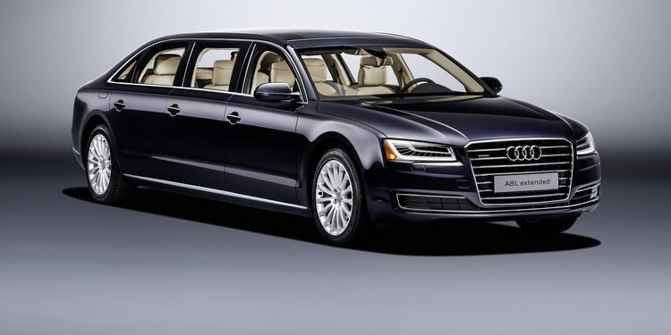 Audi A8 L Extended, seis puertas para la berlina de representación alemana