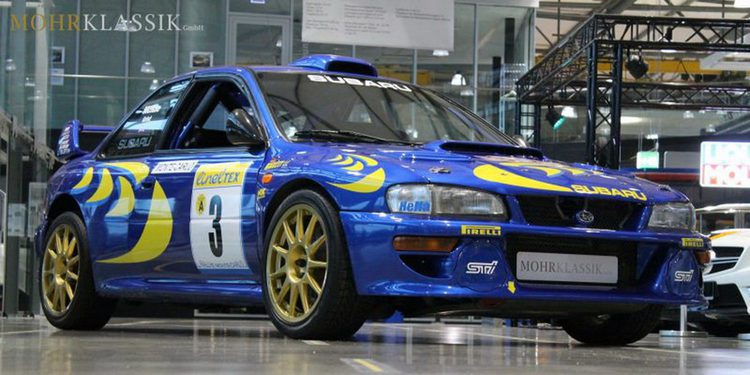 Subaru Impreza WRC 1997 de Colin McRae a la venta