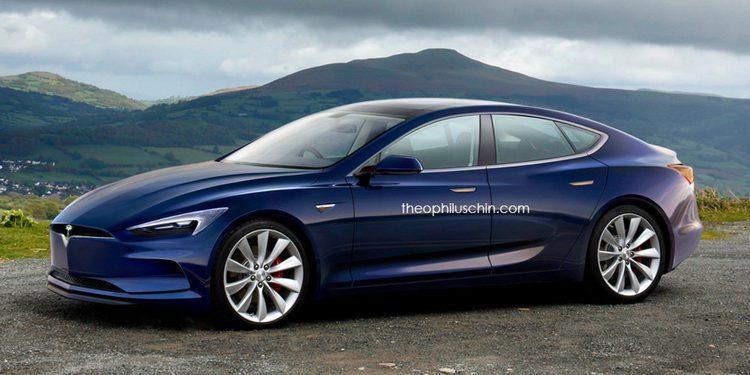 Tesla podría presentar el restyling del Model S esta semana