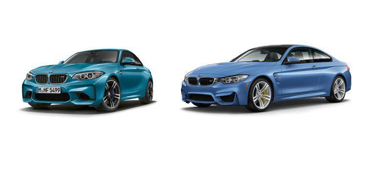 El nuevo BMW M2 frente a frente al BMW M4 en vídeo