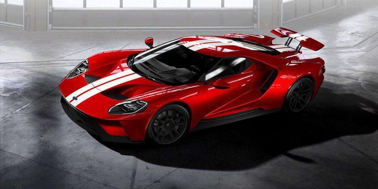 Ford ya acepta pedidos del GT 2017 y abre el configurador online