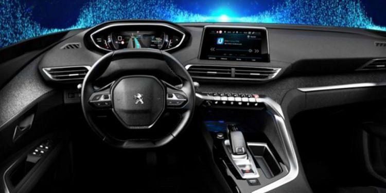 Primeras fotos oficiales del interior del nuevo Peugeot 3008