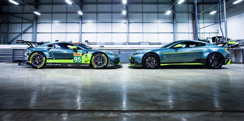 Nuevo Aston Martin Vantage GT8, edición limitada aligerada y potenciada