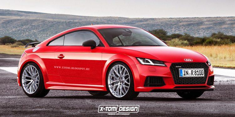 Cazado el prototipo del Audi TT RS de 400 caballos