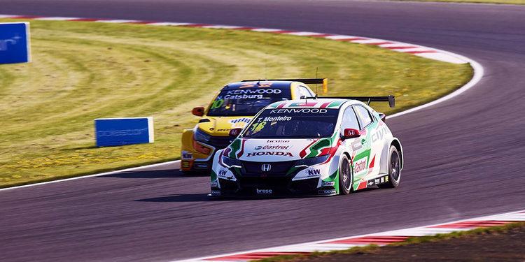 Honda Racing completa otro competitivo fin de semana en Slovakia Ring