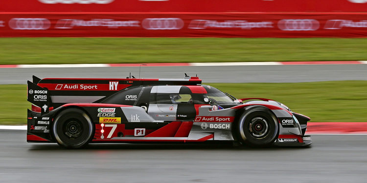 Audi gana unas trabajadas 6 Horas de Silverstone