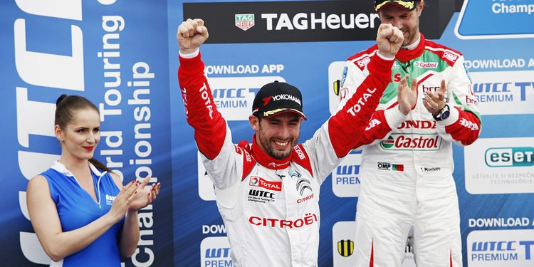 Citroën celebra la victoria tras un final de infarto