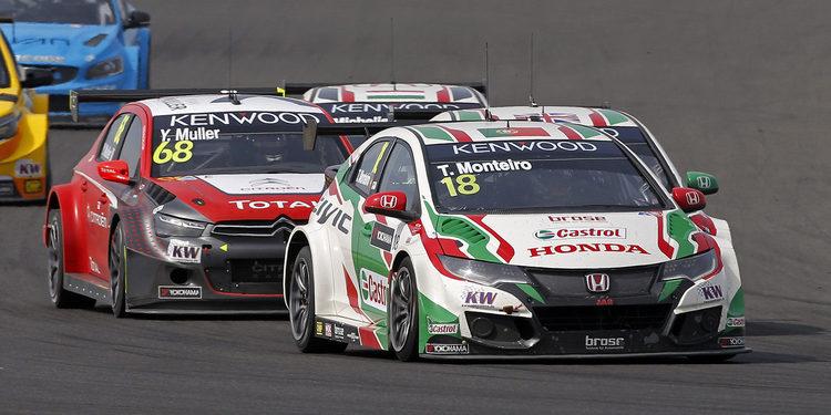 Tiago Monteiro, primer portugués en liderar un mundial de la FIA