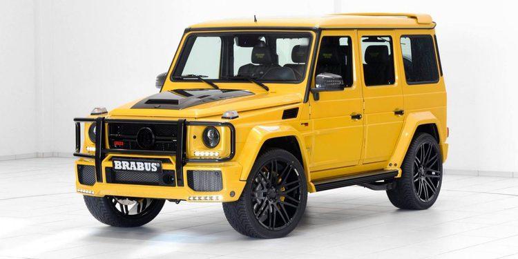 700 CV para el Mercedes-Benz G 63 AMG de Brabus