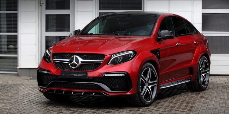 Top Car pone a punto el Mercedes-AMG GLE 450 Coupe