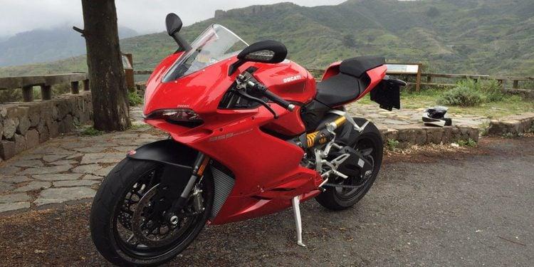 A los mandos de la nueva Ducati 959 Panigale