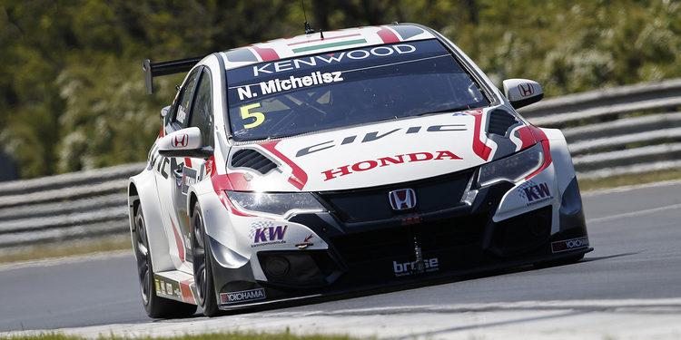 Norbert Michelisz lidera la sesión de Testing en Hungaroring