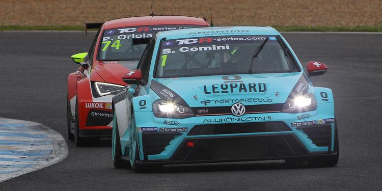 Stefano Comini el más rápido en los primeros libres en Estoril