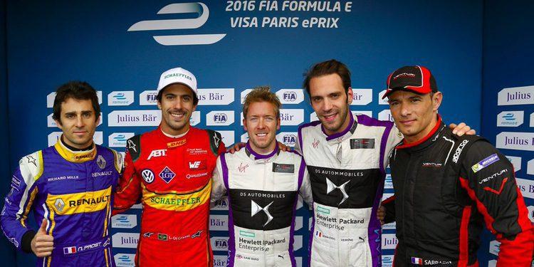 Sam Bird consigue de nuevo la pole position en París.