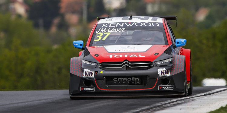 José María López consigue la pole en Hungaroring
