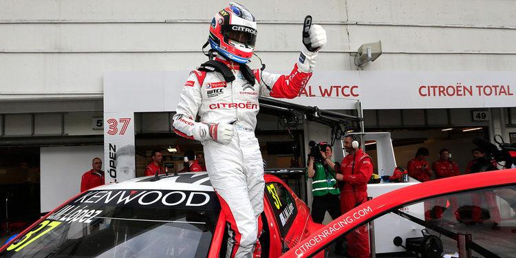 José María López continúa la racha de poles para Citroën
