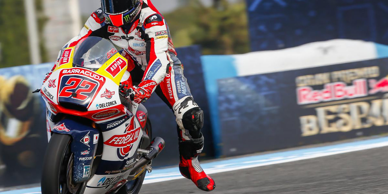 Moto2: Lowes se apunta una accidentada carrera