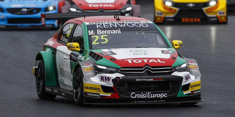 Mehdi Bennani consigue una gran victoria bajo la lluvia en Hungaroring