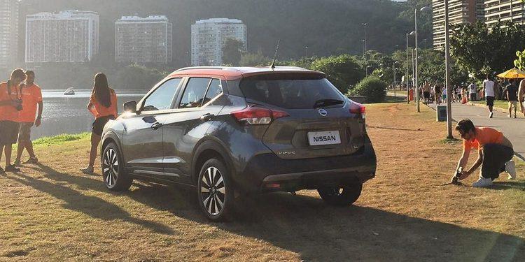 Se revelan las primeras imágenes del Nissan Kicks, un SUV-compacto diseñado en Brasil