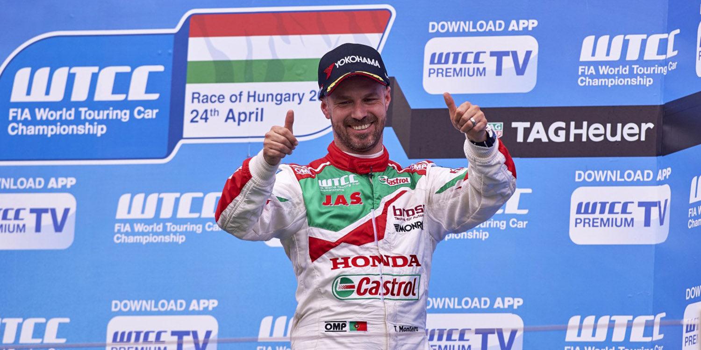 Honda Racing sigue acumulando podios en el WTCC