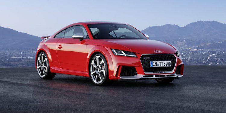 Audi presenta en Pekín el nuevo TT RS 2016, ahora con 400 CV