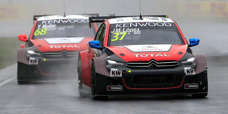 Citroën se prepara para correr en casa de Mehdi Bennani