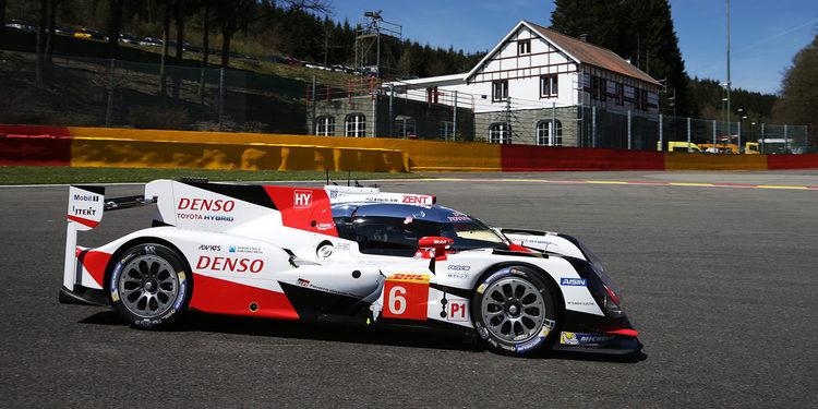 Doblete de Toyota en el FP2 del WEC en Spa