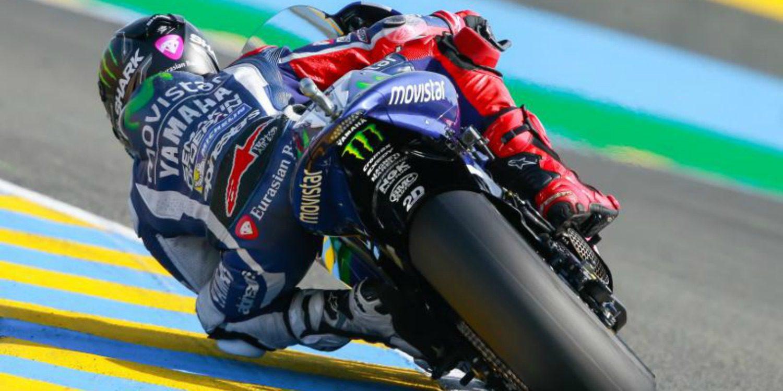 MotoGP: Recital y victoria de Jorge Lorenzo en Le Mans