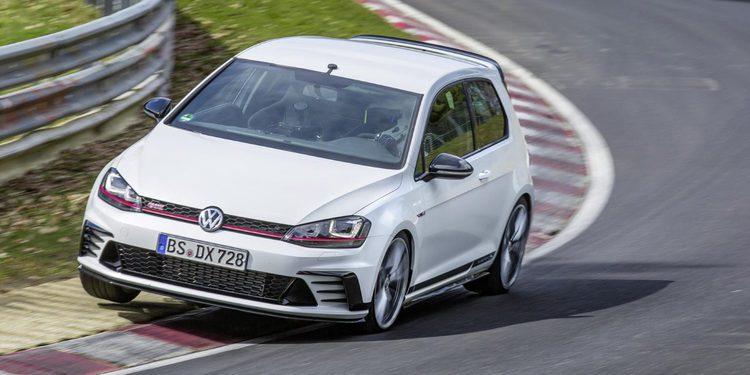 Volkswagen Golf Clubsport S, el tracción delantera más rápido de Nürburgring