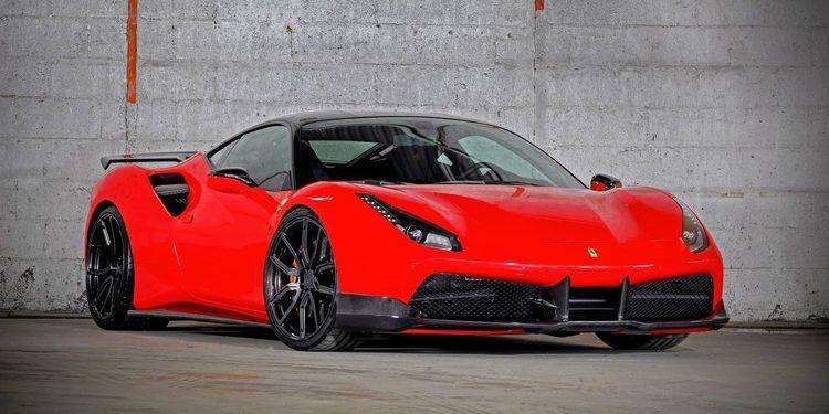 VOS Perfomance lleva hasta los 900 CV al Ferrari 488 GTB