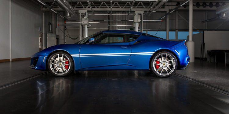Nuevo Lotus Evora 400 Hethel Edition para conmemorar los 50 años de la fábrica