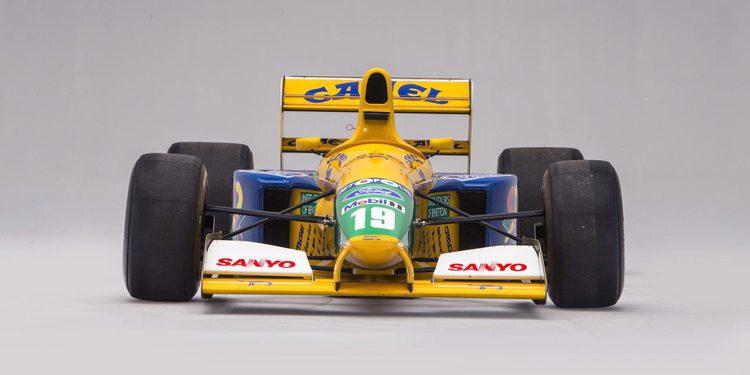El Benetton Ford B191B de Michael Schumacher vendido por el triple de su valor estimado
