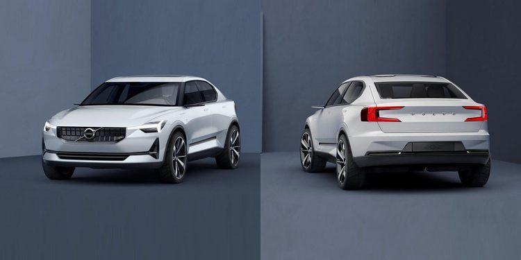 Nuevo Volvo 40.2 concept, el prototipo del futuro V40 eléctrico