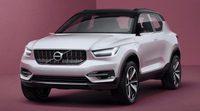 Volvo presenta el crossover 40.1 concept híbrido, adelanto del nuevo XC40