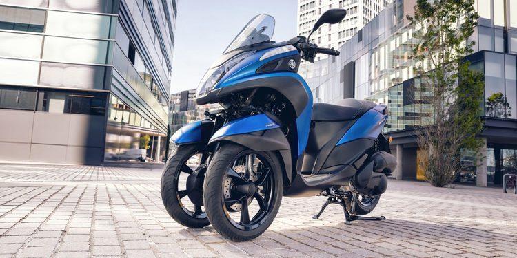 Primeras imágenes y datos de la nueva Yamaha Tricity 155 2016