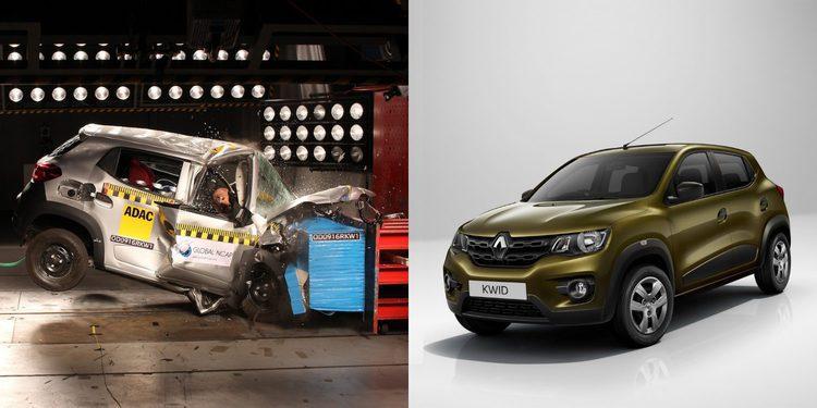 El Renault Kwid obtiene cero estrellas en Global NCAP y Renault reacciona